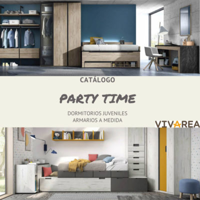 catalogo PARTY TIME vivarea Muebles del turia