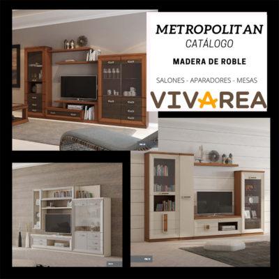 Catalogo Metropolitan vivarea Muebles Del Turia